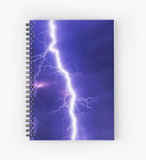 Flash Thunderstorm Spiral Notebook