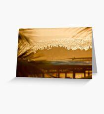 Arabian Sea Sunset Greeting Card