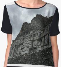 Mayan ruins Women's Chiffon Top