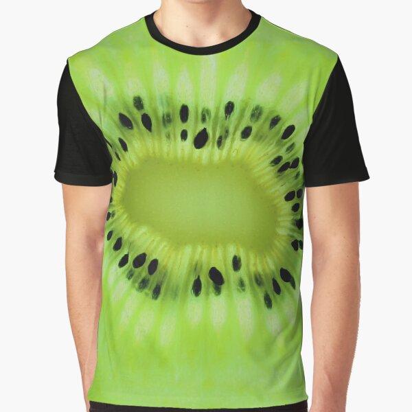 Kiwi Grafik T-Shirt