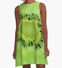 Kiwi A-Line Dress