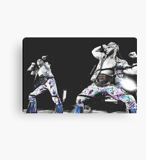 Young Bucks Print. Canvas Print