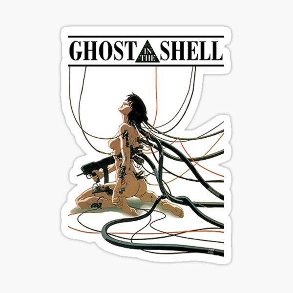 ghost in the shell by remsoun Sticker