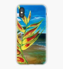 Heliconia Tropische Papageien Pflanze Bring mich hin iPhone-Hülle & Cover