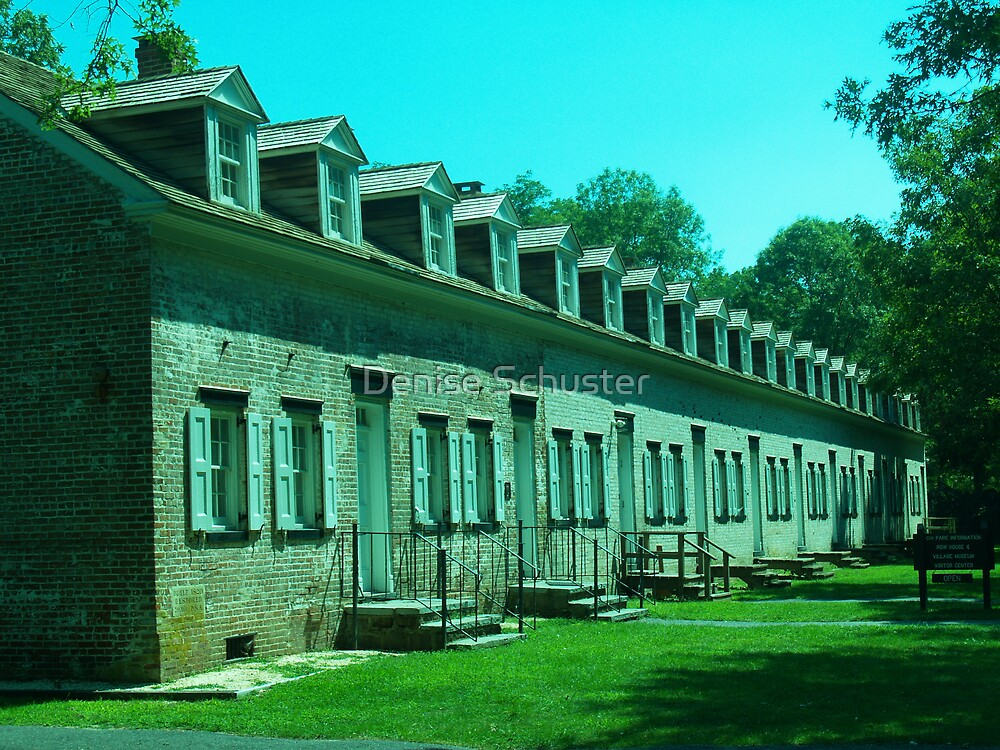 Row Houses by Denise Wolff
