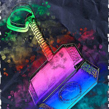 Mjölnir - Thor's Hammer by Felipe-Trevor