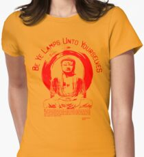 Be Ye Lamps(Punk'd up a knotch)alt color Womens Fitted T-Shirt
