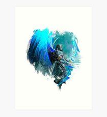 Guild Wars 2 - Dragonhunter Art Print