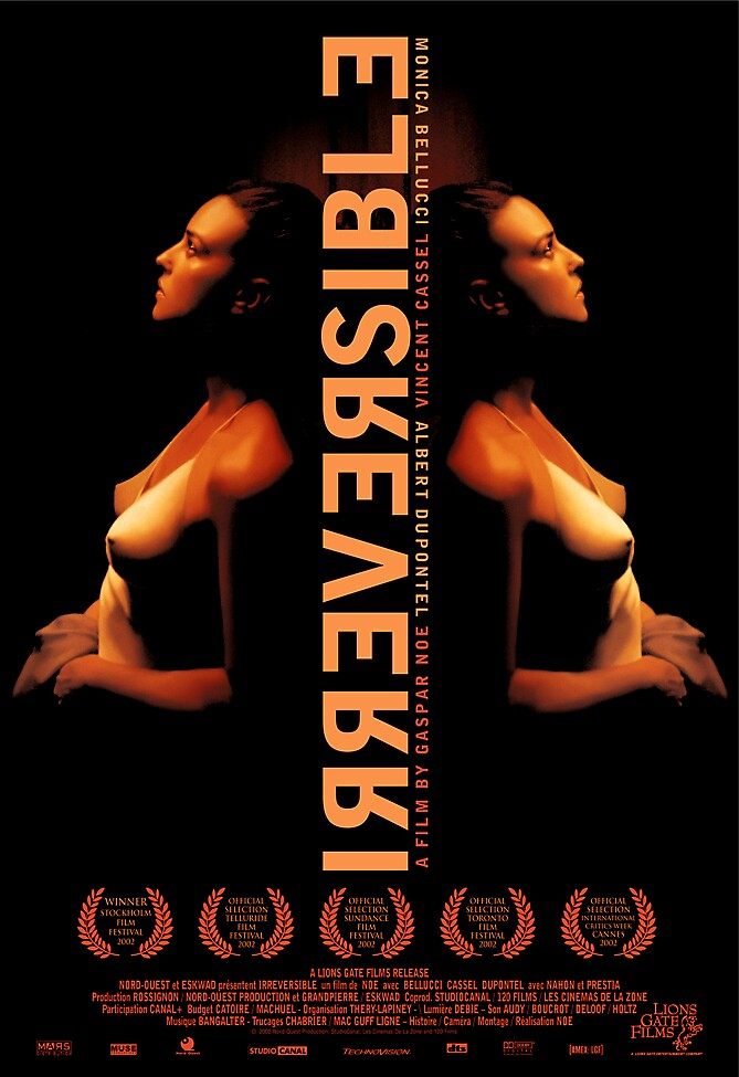 Irreversable Theatrical Poster by rockgoods