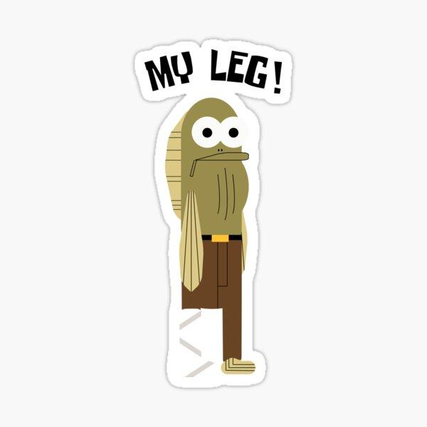 SpongeBob - My Leg!  Sticker