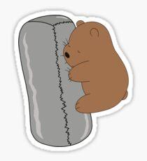 Pegatina Burrito Baby Grizz - We Bare Bears Cartoon