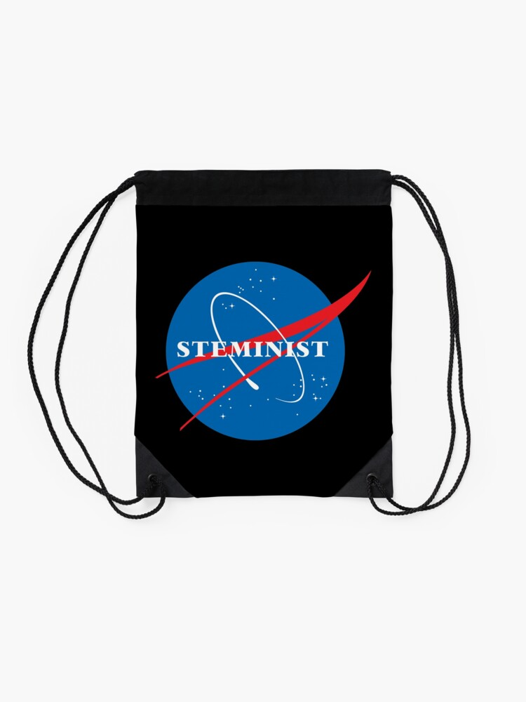 Alternate view of STEMinist Drawstring Bag
