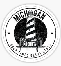 Michigan Good Times Great Lakes Sticker