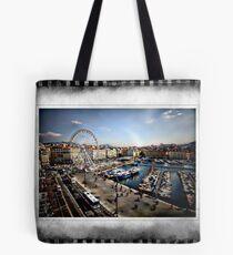 Marseilles Harbor Tote Bag