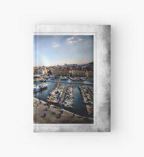 Marseilles Harbor Hardcover Journal