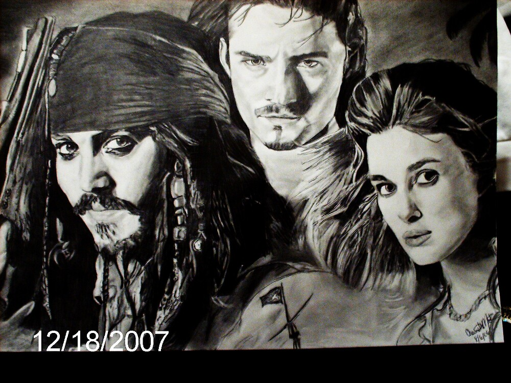Pirates of the Carribbean by Charrell  Mack