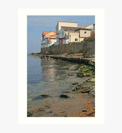 Sea View, Swanage Art Print