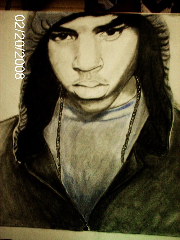 Chris Brown by Charrell  Mack