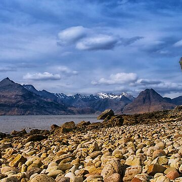 Elgol View to the Black Cuillin by jacqi