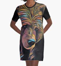 Bear Graphic T-Shirt Dress