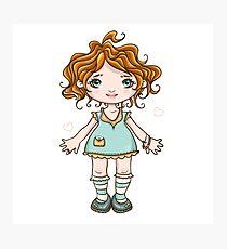 Baby girl Photographic Print