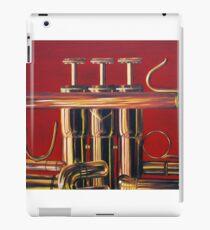 Trumpet in Red iPad Case/Skin
