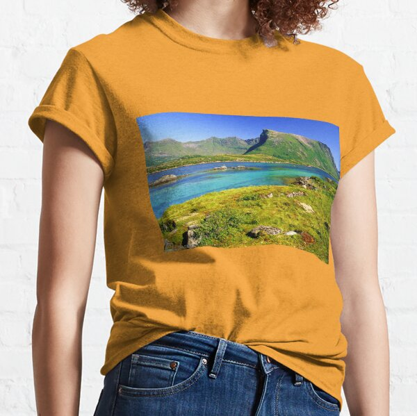 Just like a miracle Lofoten Islands . Norway. by Doctor Andrzej Goszcz. Classic T-Shirt