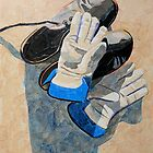 """Work shoes, gloves"" by Richard Robinson"