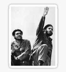 Fidel Castro and Che Guevara  Sticker