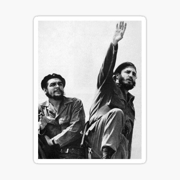 Fidel Castro y Che Guevara Pegatina