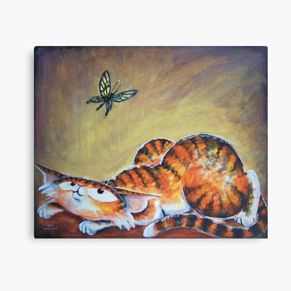 Butterfly Eyes - Art by TET Canvas Print