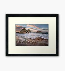 Elephant Rock Ballintoy County Antrim Northern Ireland Framed Print
