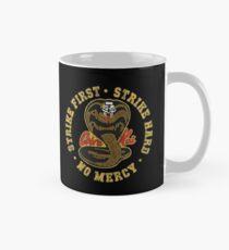 Cobra Kai - Strike First - Strike Hard - No Mercy - HD Distressed Variant 3 Mug