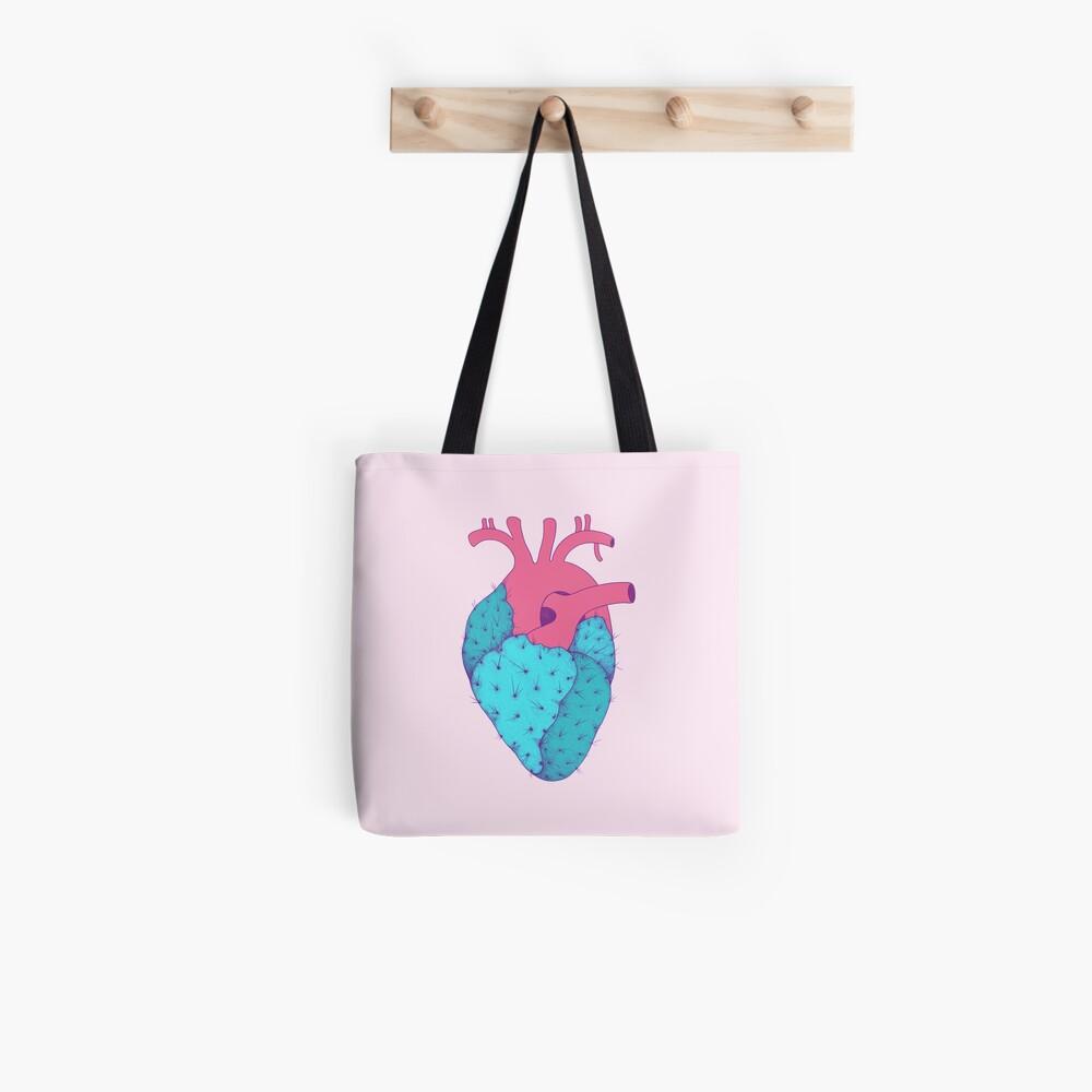 Cactus Heart Tote Bag