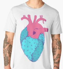 Cactus Heart Men's Premium T-Shirt
