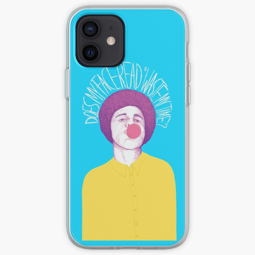 Does My Face Read Waste My Time iPhone Case & Cover