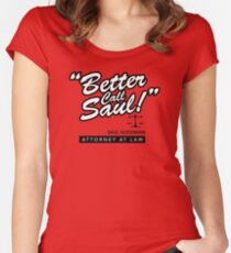 Better Call Saul- Breaking Bad Women's Fitted Scoop T-Shirt