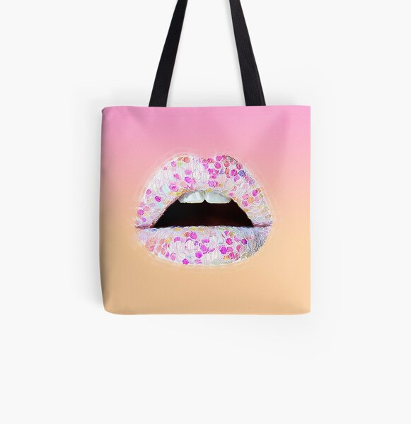 Ultra Punch Noise of Glitter All Over Print Tote Bag