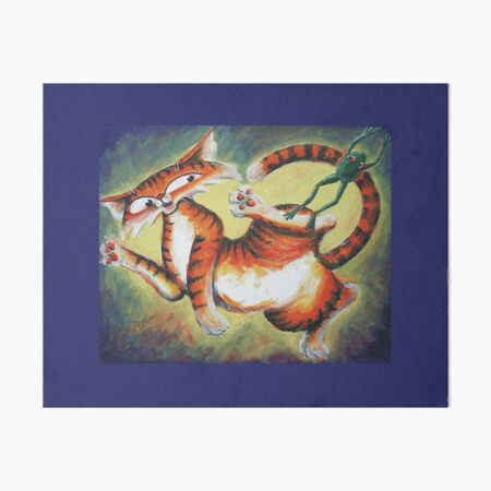 Leap Frog Jac Art Board Print