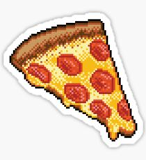 Pixel Pizza Sticker