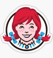 Wendy's Sticker