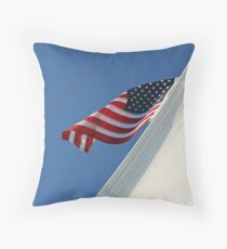 High Sailer Throw Pillow