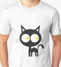 Black cat, cat eyes, cute cat Unisex T-Shirt