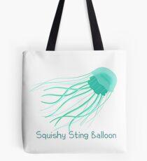 Squishy Sting Balloon (Jellyfish) Tote Bag