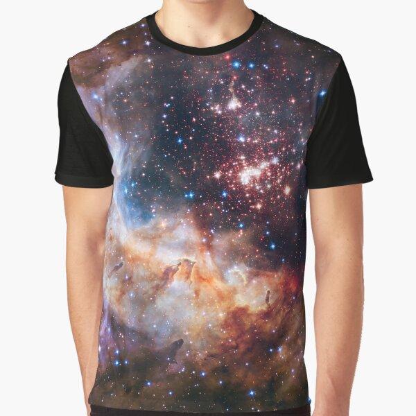 Deep Space Nebula Galaxy Univers Cosmic #1 Graphic T-Shirt