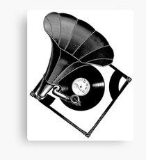 Music Phonograph Canvas Print