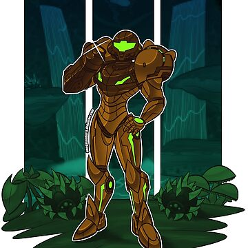 Metroid by OmegaSunBurst