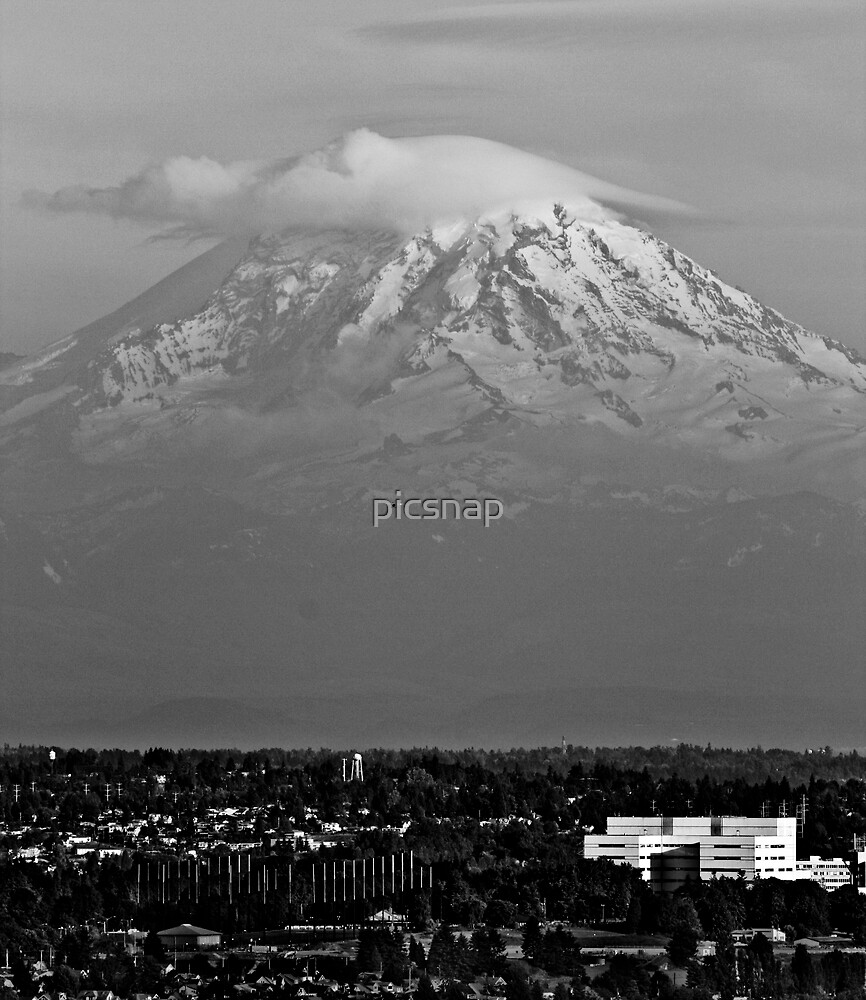Mount Ranier by picsnap