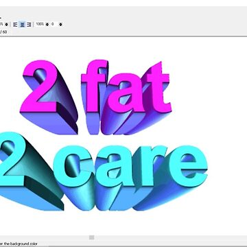 2 Fat 2 Care by Skyhill