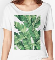 Tropical banana leaves III Women's Relaxed Fit T-Shirt